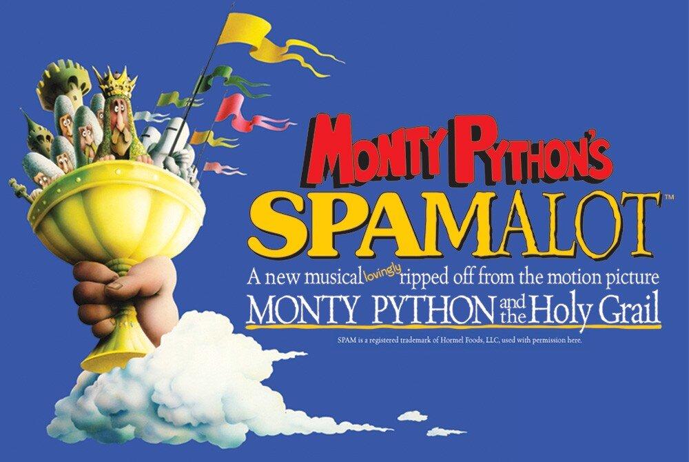Monty Python Spamalot Broadway Musical Paramount