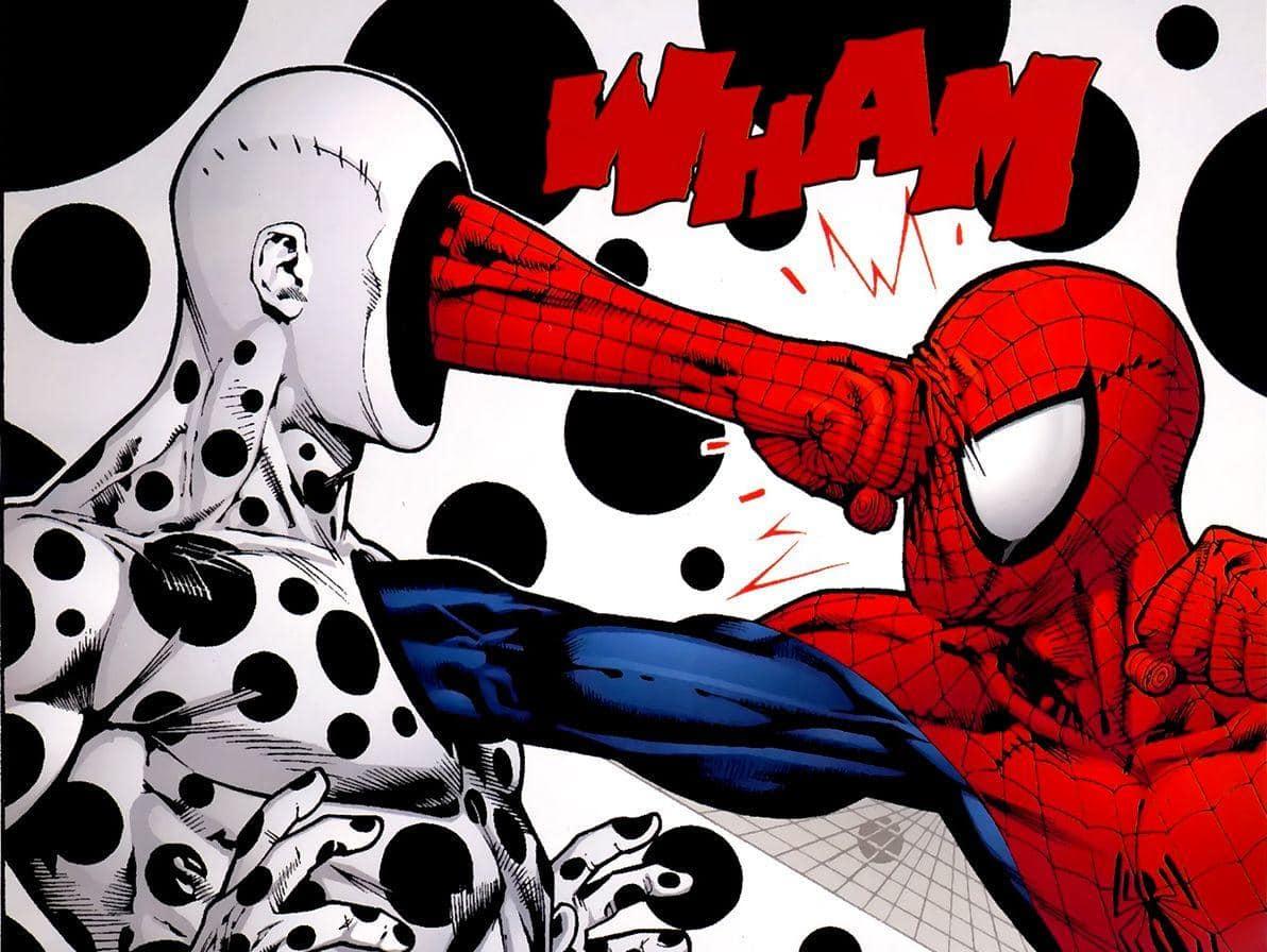 Spider Man In The Spider Verse 2 The Spot