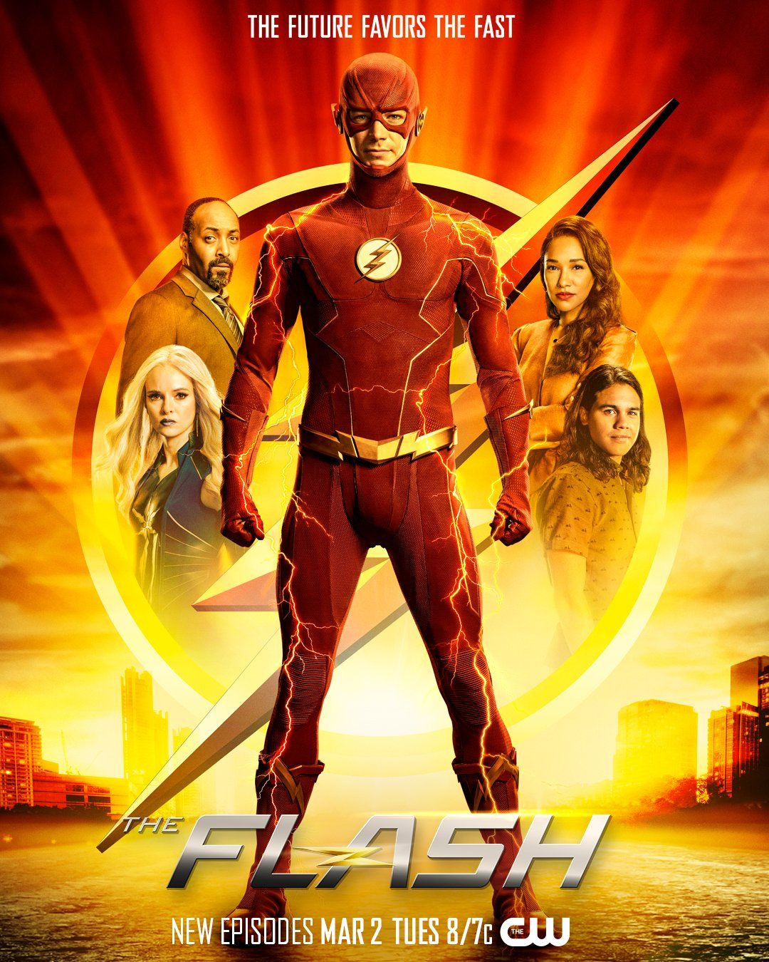 The Flash Season 7 Poster The CW Release Date