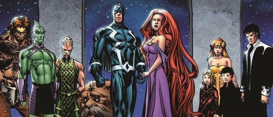 Marvel's Inhumans Reportedly Will Be Rebooted In The Fantastic Four Movies