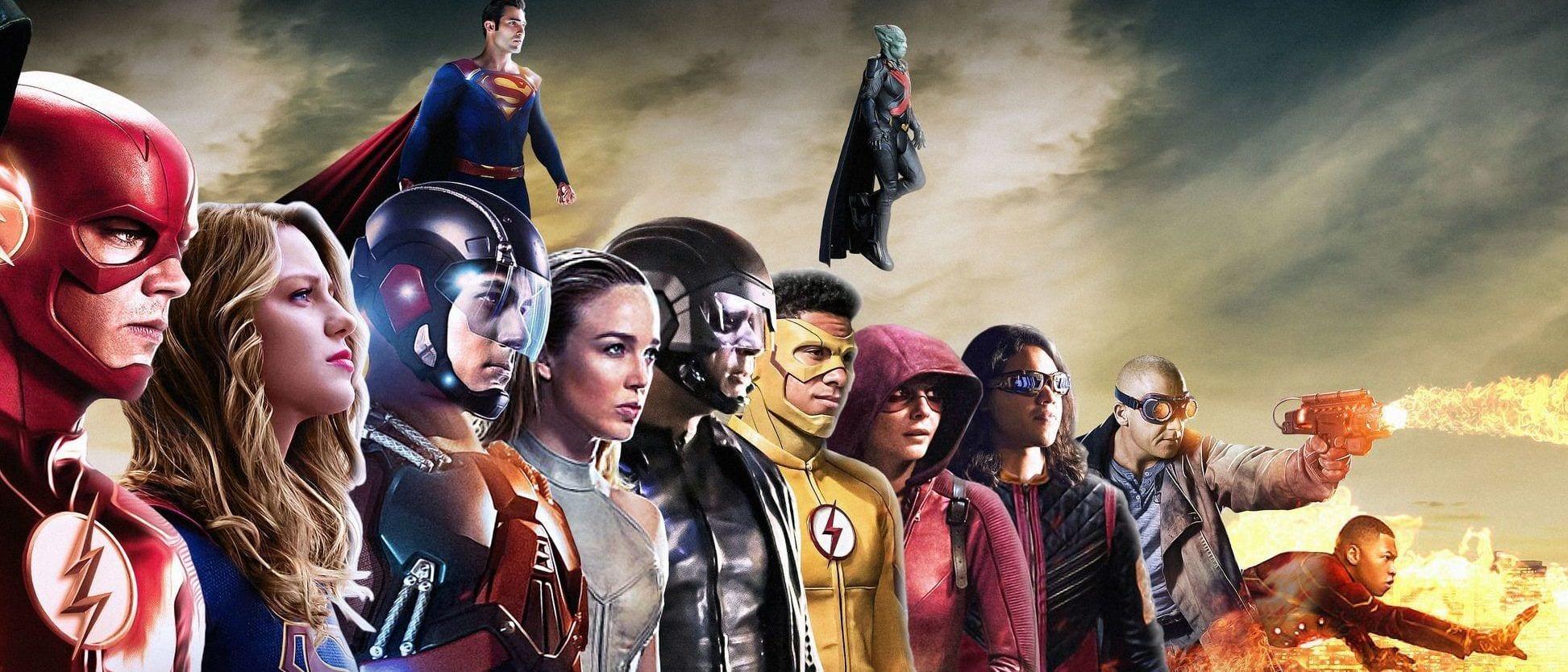 The CW Arrowverse DC Comics