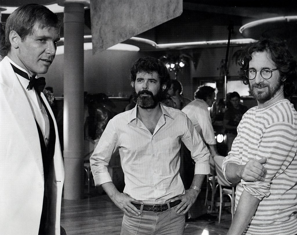 George Lucas Harrison Ford Steven Spielberg Star Wars