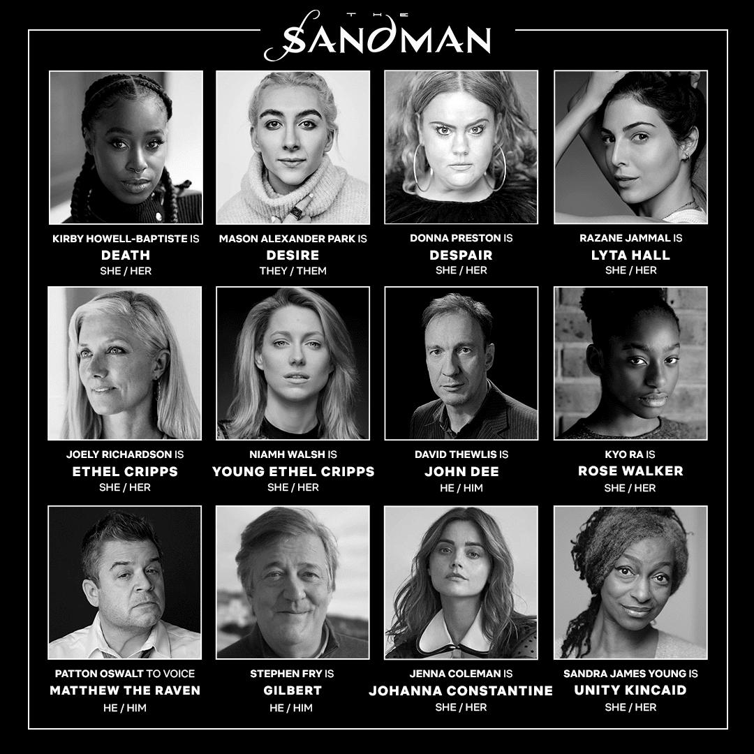 Netflix The Sandman Cast release Date