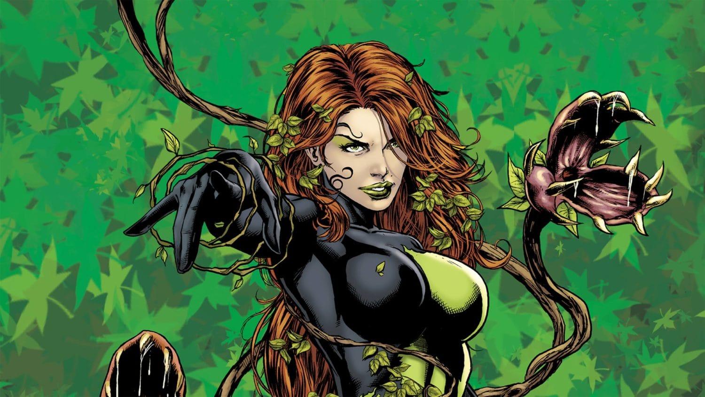 DC Comics posion Ivy Margot Robbie Harley Quinn