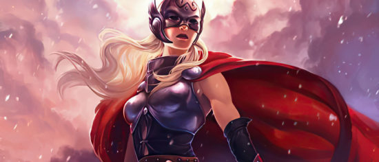 First Look At Natalie Portman As Lady Thor Revealed