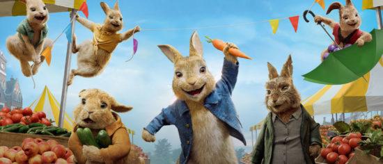 Peter Rabbit 2 Tops UK Weekend Box Office Again