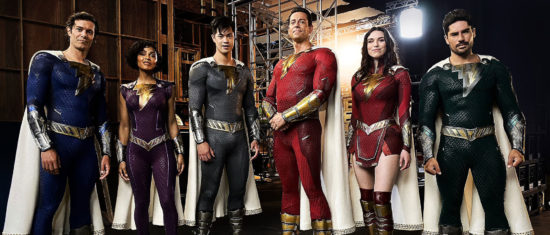 First Look At Shazam 2 Suits Revealed