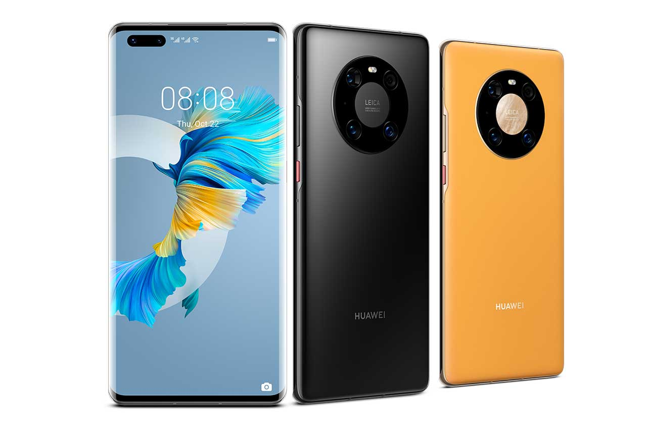 HUAWEI-Mate-40-Pro-Black-Yellow-Gold-Colors