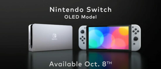 Nintendo Announces The Switch's New OLED Model