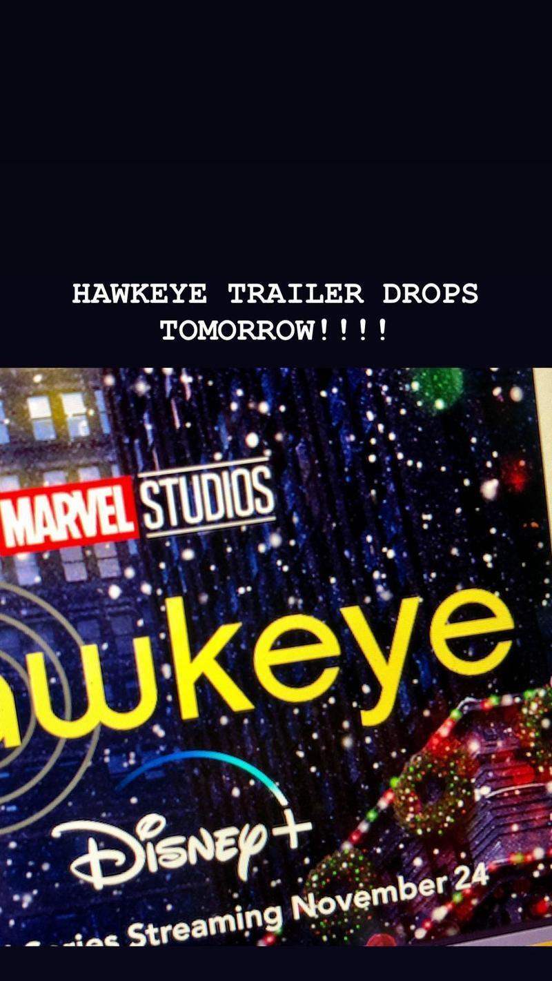 Hawkeye Trailer Jeremy Renner