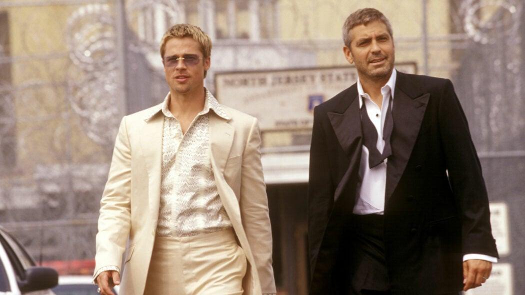 Oceans-Eleven-George-Clooney-Brad-Pitt