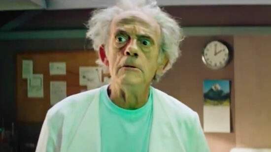 Rick & Morty Casts Christopher Lloyd As Live-Action Rick